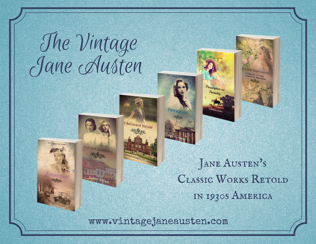 The Vintage Jane Austen - Classic Works Retold in 1930s America